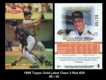 1998 Topps Gold Label Class 3 Red #29