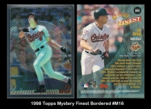 1998 Topps Mystery Finest Bordered #M16