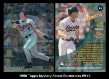 1998 Topps Mystery Finest Borderless #M16