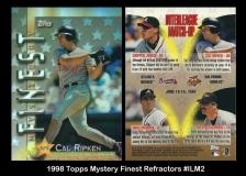 1998 Topps Mystery Finest Refractors #ILM2