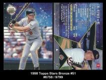 1998 Topps Stars Bronze #51