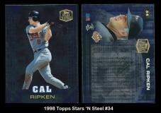 1998 Topps Stars 'N Steel #34