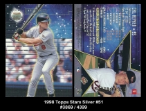 1998 Topps Stars Silver #51