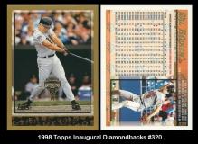 1998 Topps Inaugural Diamondbacks #320
