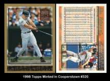 1998 Topps Minted in Cooperstown #320