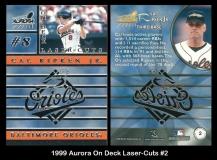 1999 Aurora On Deck Laser-Cuts #2