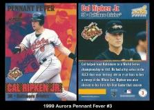 1999 Aurora Pennant Fever #3
