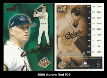 1999 Aurora Red #25