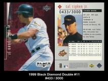 1999 Black Diamond Double #11
