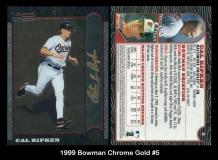 1999 Bowman Chrome Gold #5