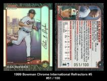 1999 Bowman Chrome International Refractors #5