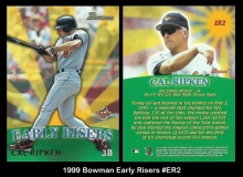 1999 Bowman Early Risers #ER2