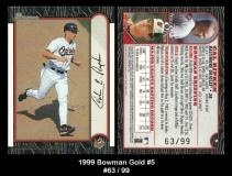 1999 Bowman Gold #5