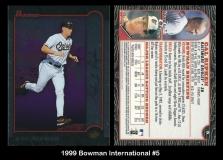 1999 Bowman International #5