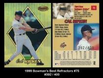 1999 Bowmans Best Refractors #75