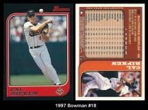 1997 Bowman #18