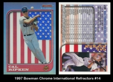 1997 Bowman Chrome International Refractors #14