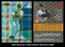 1997 Bowmans Best Atomic Refractors #64