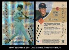 1997 Bowmans Best Cuts Atomic Refractors #BC4
