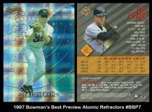 1997 Bowmans Best Preview Atomic Refractors #BBP7