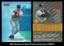 1997 Bowmans Best Preview Refractors #BBP7