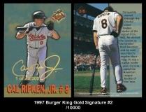 1997 Burger King Gold Signature #2