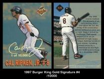 1997 Burger King Gold Signature #4