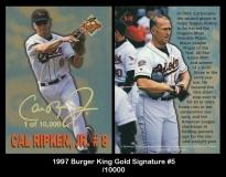 1997 Burger King Gold Signature #5