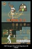 1997 Burger King Gold Signature #8
