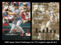 1999 Upper Deck Challengers for 70 Longball Legends #L4