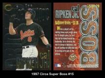 1997 Circa Super Boss #15