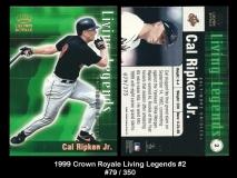 1999 Crown Royale Living Legends #2
