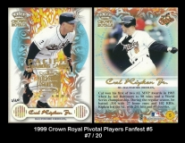 1999 Crown Royale Pivotal Players Fanfest #5