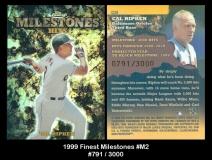 1999 FInest Milestones #M2