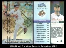 1999 Finest Franchise Records Refractors #FR2