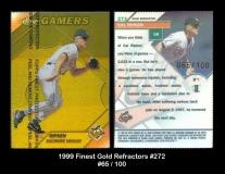 1999 Finest Gold Refractors #272