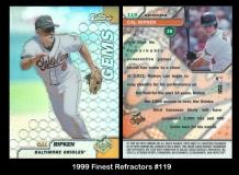 1999 Finest Refractors #119