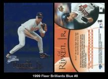 1999 Fleer Brilliants Blue #8