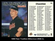 1999 Fleer Tradition Millennium #596 CL