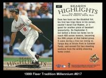 1999 Fleer Tradition Millennium #617
