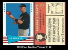 1999 Fleer Tradition Vintage '61 #8