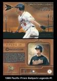 1999 Pacific Prism Ballpark Legends #1