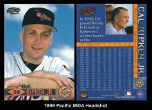 1999 Pacific #60A Headshot