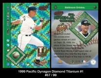 1999 Pacific Dynagon Diamond Titanium #1