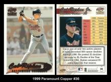 1999 Paramount Copper #36