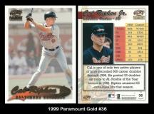 1999 Paramount Gold #36