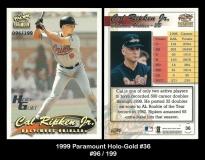 1999 Paramount Holo-Gold #36