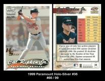 1999 Paramount Holo-Silver #36