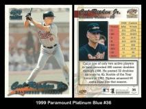 1999 Paramount Platinum Blue #36