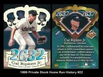 1999 Private Stock Home Run History #22